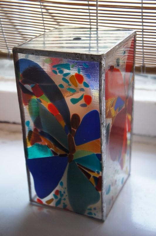 Занятия по работе со стеклом
