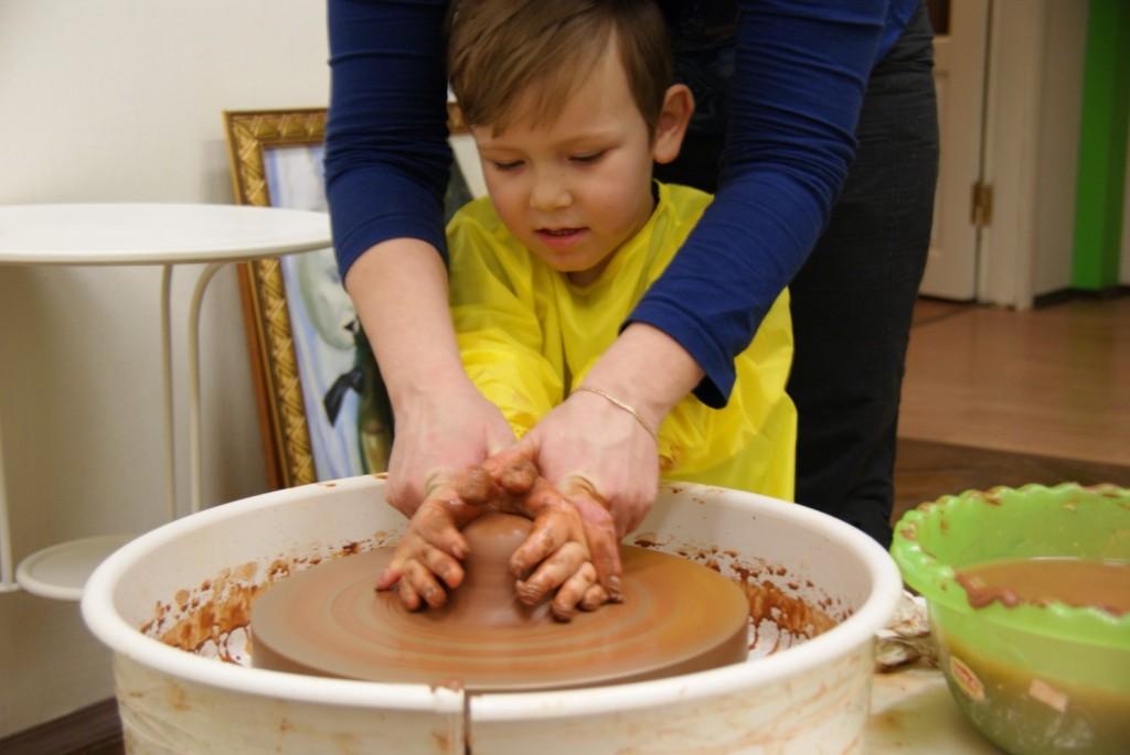 Мастер класс по лепки из глины для детей